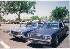 high school parking lot 1998