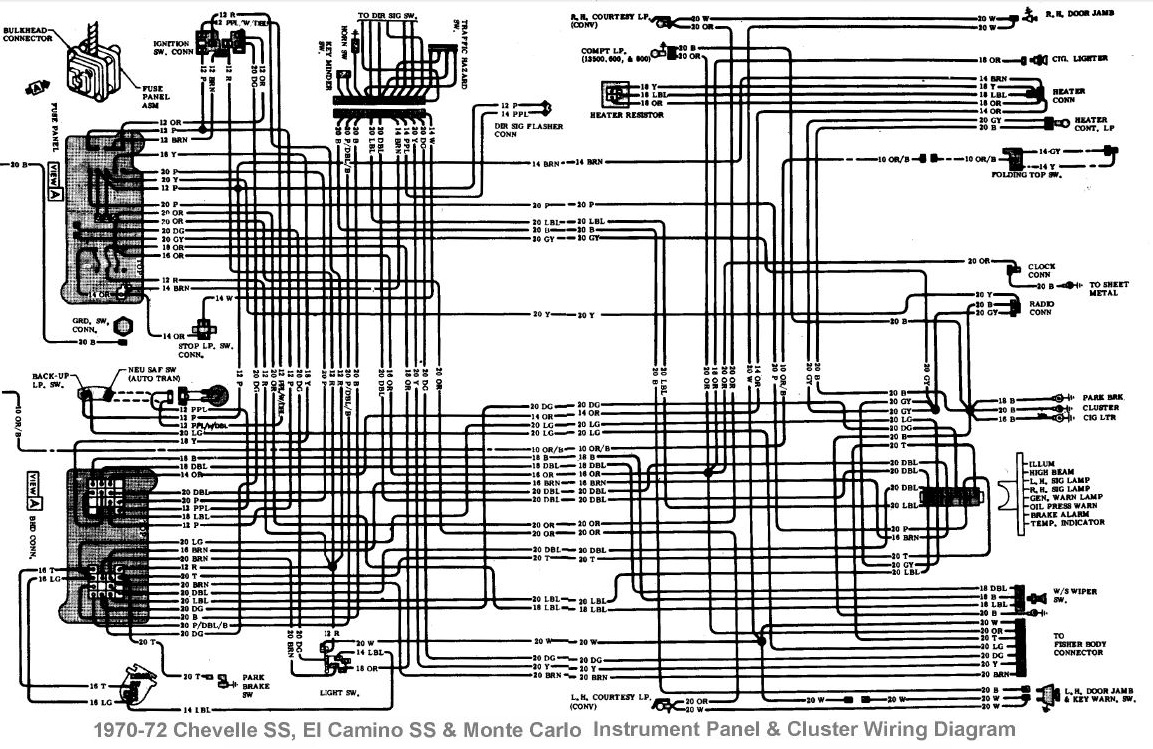 1971 chevelle dash wiring diagram wiring diagram help electrical first generation monte carlo club  wiring diagram help electrical