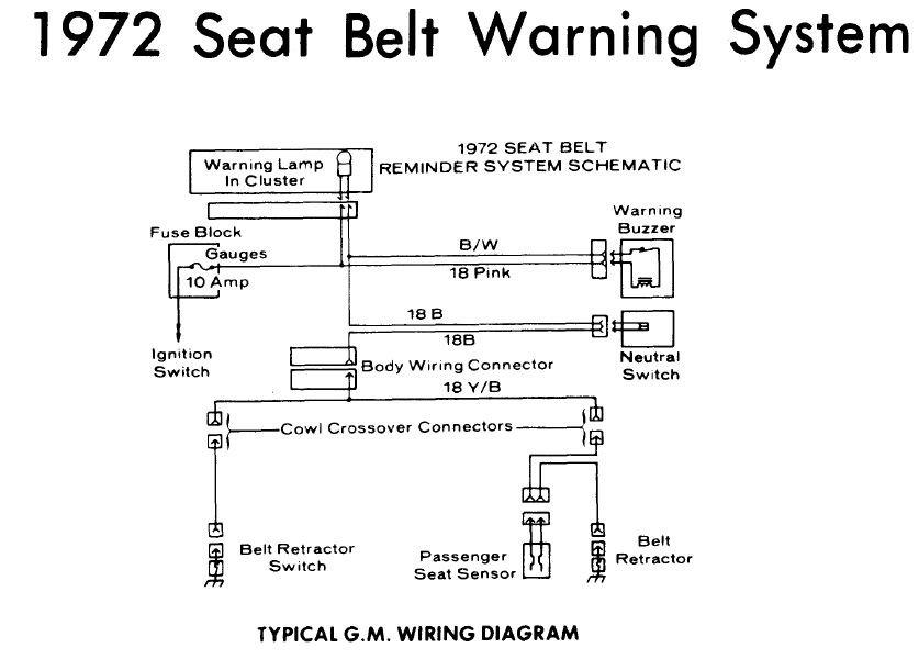 [DIAGRAM_4FR]  72 seat belt warning switch - General 70-72 Monte Carlo Forum - First  Generation Monte Carlo Club | Wiring Diagram Seat Belt Reminder |  | The First Generation Monte Carlo Club