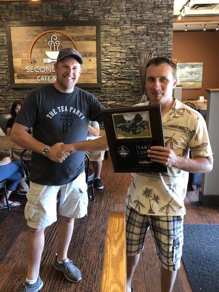 Steve Hoodicoff - Hard Luck Award